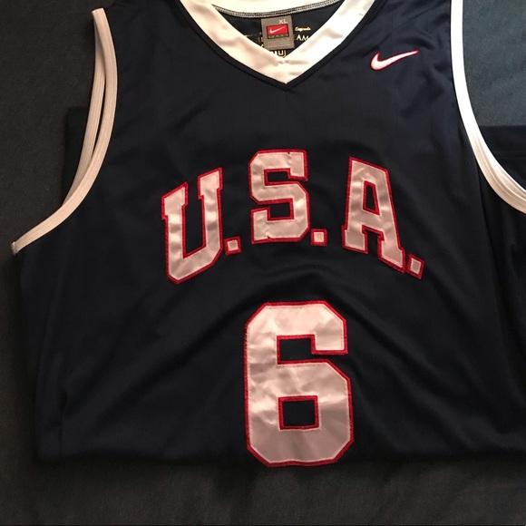 pretty nice 63ef7 1924b Lebron James Team USA Basketball Jersey